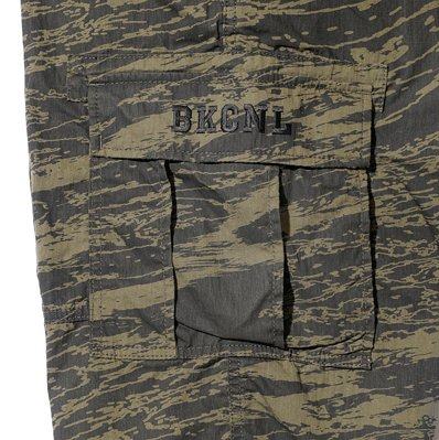 BackChannel バックチャンネル GHOSTLION CAMO CARGO SHORTS