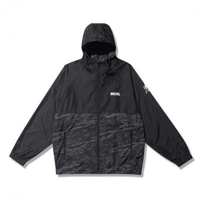 BackChannel バックチャンネル NYLON HOODED JACKET 1