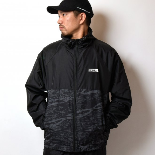 BackChannel バックチャンネル NYLON HOODED JACKET