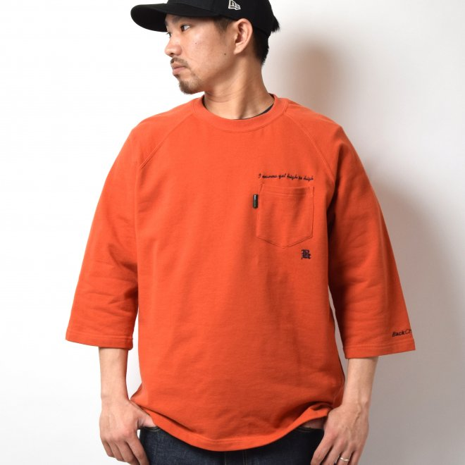 BackChannel バックチャンネル RAGLAN80% SWEAT