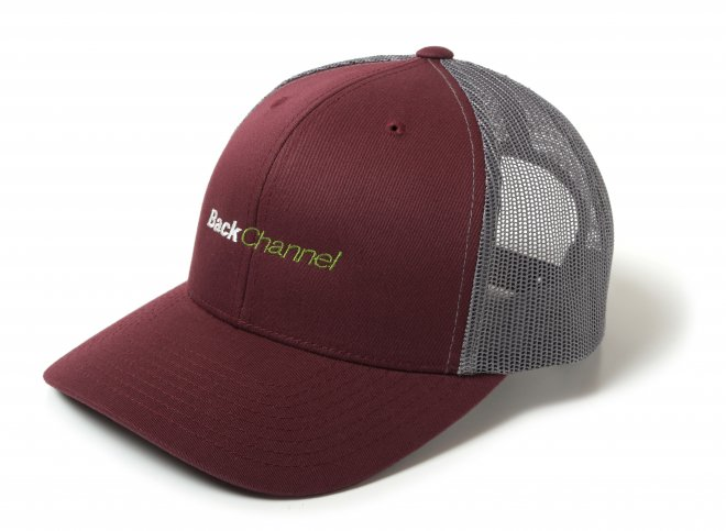 <img class='new_mark_img1' src='https://img.shop-pro.jp/img/new/icons11.gif' style='border:none;display:inline;margin:0px;padding:0px;width:auto;' />Back Channel OFFICIAL LOGO MESH CAP 1