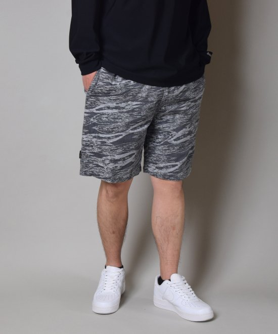 <img class='new_mark_img1' src='https://img.shop-pro.jp/img/new/icons11.gif' style='border:none;display:inline;margin:0px;padding:0px;width:auto;' />Back Channel JACQUARD DENIM EASY SHORTS