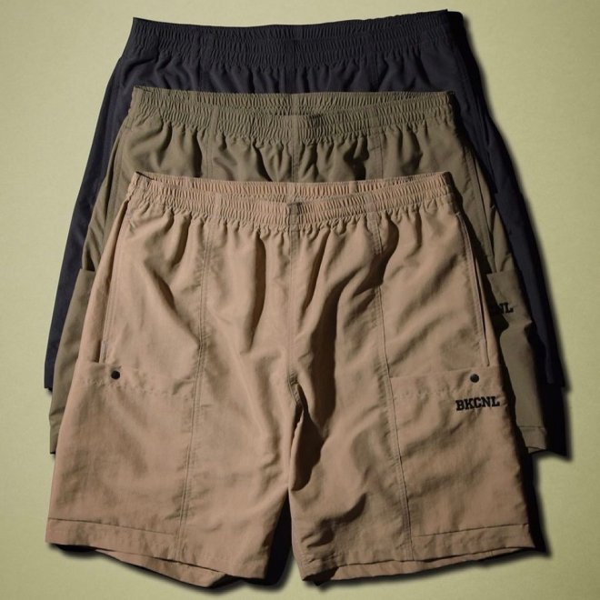 <img class='new_mark_img1' src='https://img.shop-pro.jp/img/new/icons11.gif' style='border:none;display:inline;margin:0px;padding:0px;width:auto;' />Back Channel NYLON FIELD SHORTS