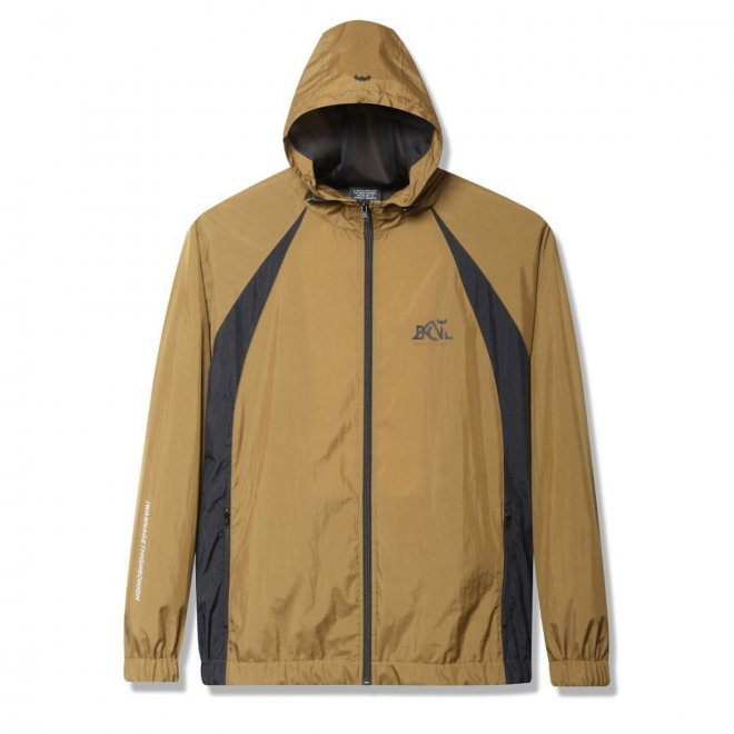 <img class='new_mark_img1' src='https://img.shop-pro.jp/img/new/icons11.gif' style='border:none;display:inline;margin:0px;padding:0px;width:auto;' />Back Channel NYLON TRACK HOODED JACKET 1