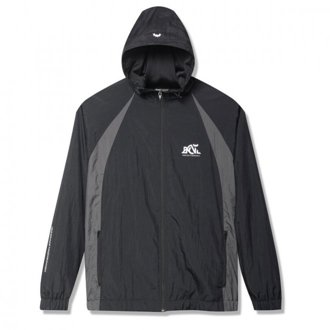 <img class='new_mark_img1' src='https://img.shop-pro.jp/img/new/icons11.gif' style='border:none;display:inline;margin:0px;padding:0px;width:auto;' />Back Channel NYLON TRACK HOODED JACKET