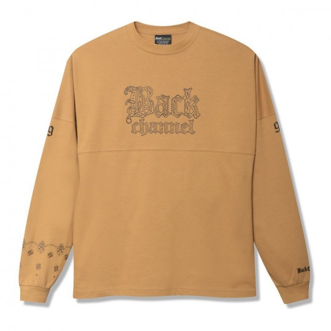 <img class='new_mark_img1' src='https://img.shop-pro.jp/img/new/icons11.gif' style='border:none;display:inline;margin:0px;padding:0px;width:auto;' />Back Channel WIDE LONG SLEEVE T