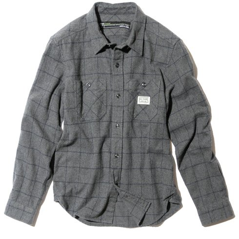 BackChannel バックチャンネル NEL CHECK SHIRT 1