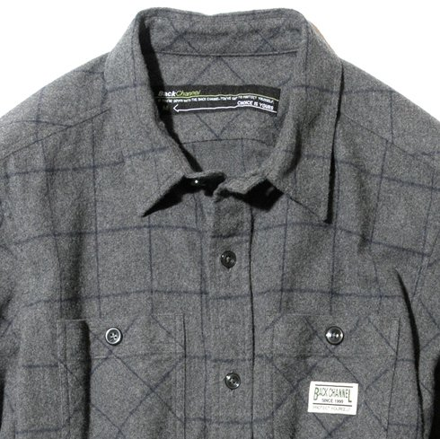 BackChannel バックチャンネル NEL CHECK SHIRT