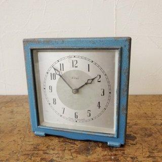 イギリス ヴィンテージ エンフィールド社 機械式時計 ブルー