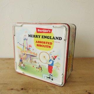 old tins イギリス 「Burton's Biscuits」
