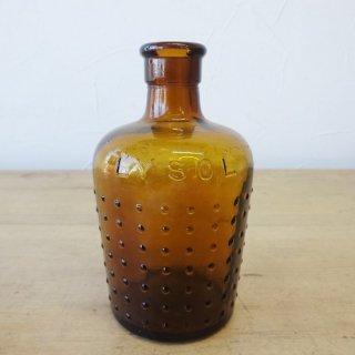 イギリス アンティークボトル lysol 12cm 1711257