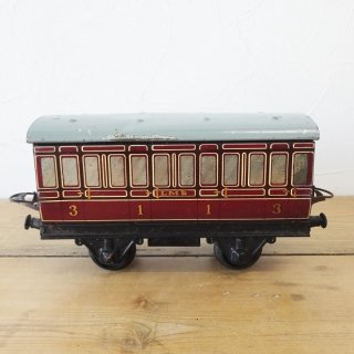 イギリス HORNBY ブリキの鉄道模型シリーズ 客車 B
