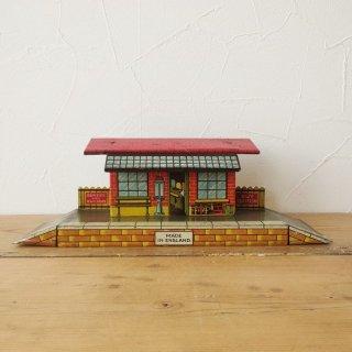イギリス HORNBY ブリキの鉄道模型シリーズ 駅
