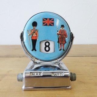イギリス ヴィンテージ デスクカレンダー 衛兵