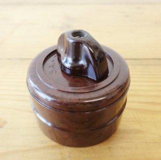 イギリス ヴィンテージ ベークライト製 スイッチ ロータリー
