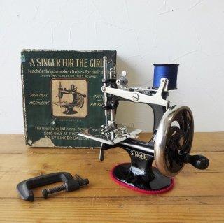 SINGER シンガー トイミシン モデルNo.20 初期型 ブラック 状態良