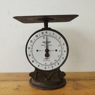 イギリス アンティーク サルター社 パーセルスケール ホーロー文字盤
