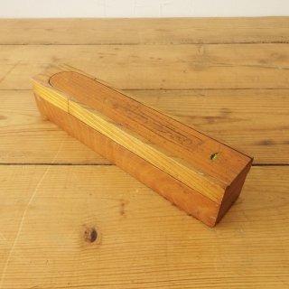 イギリス ヴィンテージ 木製ペンケース ダブルサイド