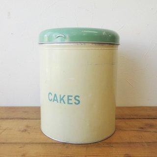 イギリス ヴィンテージ Worcester Ware ケーキ缶 アルミ製