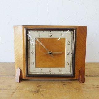 イギリス ヴィンテージ GENALEX ジェナレックス 置き時計 クォーツ交換済み
