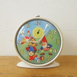 イギリス ヴィンテージ スミス社 ノディの目覚まし時計 ゼンマイ時計