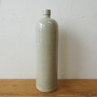 フランス アンティーク ストーンウェアボトル 30cm 一輪挿し