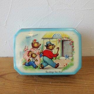 イギリス ヴィンテージ ブリキ缶 The Three Bears