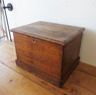 イギリス ヴィンテージ パイン材 木箱 ツールボックス