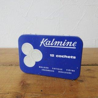 フランス ヴィンテージ ブリキ缶 Kalmine タブレット
