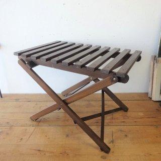 イギリス ヴィンテージ 木製折り畳みテーブル フォールディングテーブル