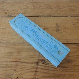 フランス ヴィンテージ 木製ペンケース 筆箱  「私の筆箱」 未使用
