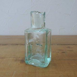イギリス アンティーク インクボトル ライオンマーク 人気ボトル