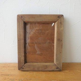 イギリス アンティーク 木製ネガフレーム ポストカードサイズ A