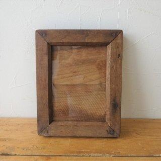イギリス アンティーク 木製ネガフレーム ポストカードサイズ B