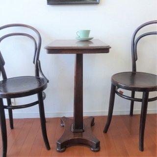 イギリス アンティーク マホガニーのカフェテーブル サイドテーブル 飾り台