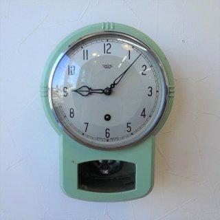 イギリス ヴィンテージ SMITHS ENFIELD キッチンクロック スチール製 機械式時計 1950年代 希少