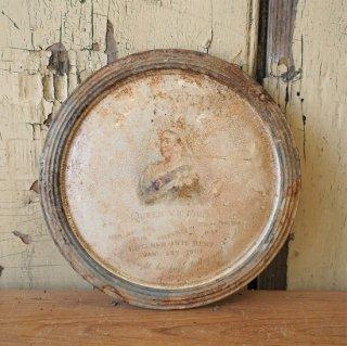 イギリス アンテイーク ヴィクトリア女王 メモリアルプレート 17cm 発掘もの