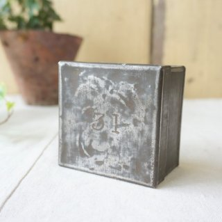 イギリス アンテイーク 紅茶のサンプル缶 ナンバーリング ブリキ缶 31