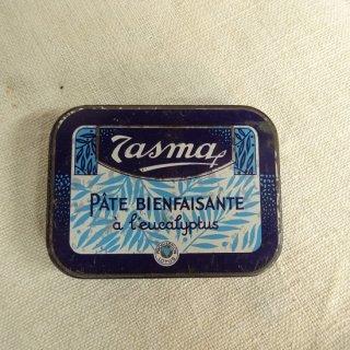 ヴィンテージ ブリキ缶 TASMA