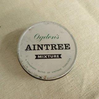 ヴィンテージ ブリキ缶 AINTREE