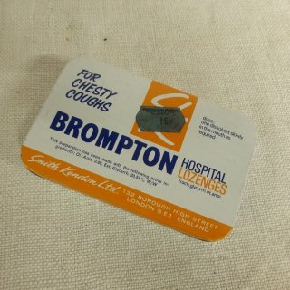 ヴィンテージ ブリキ缶 BROMPTON