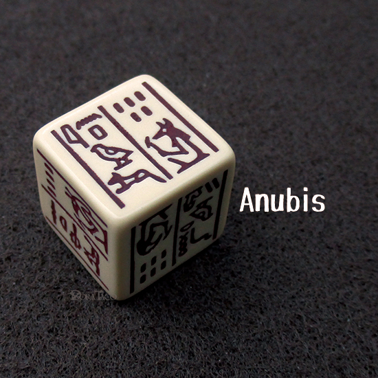 Dice Of Ancient Egypt-Anubis