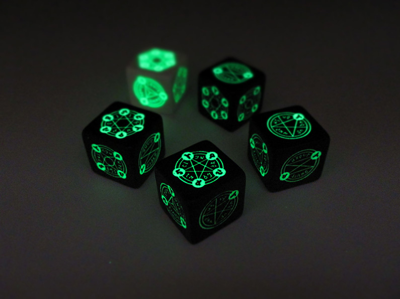 Black Magic Dice