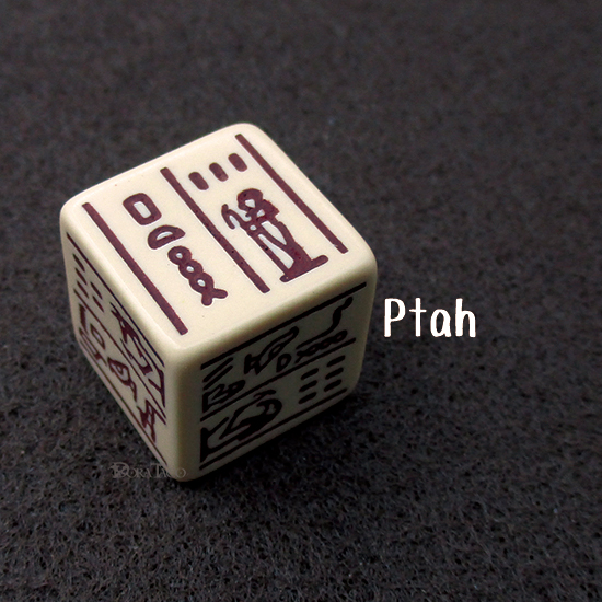 Dice Of Ancient Egypt-Ptah