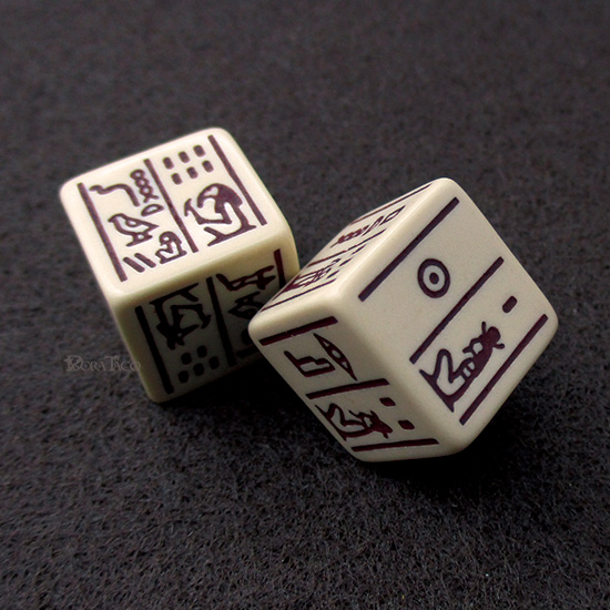 Dice Of Ancient Egypt