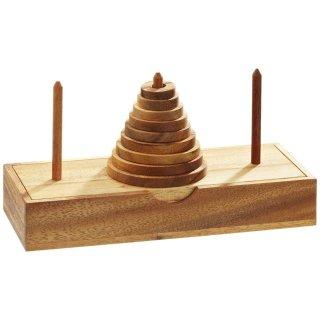 木製ハノイの塔 9段 6220 フィロス(Philos)