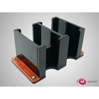 e-Raptor(イーラプター) アクリル製 カードホルダー 2S/ブラック