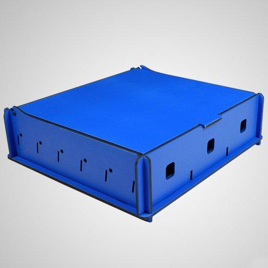 e-Raptor(イーラプター) 木製 ユニバーサルボックス Mサイズ/ブルー