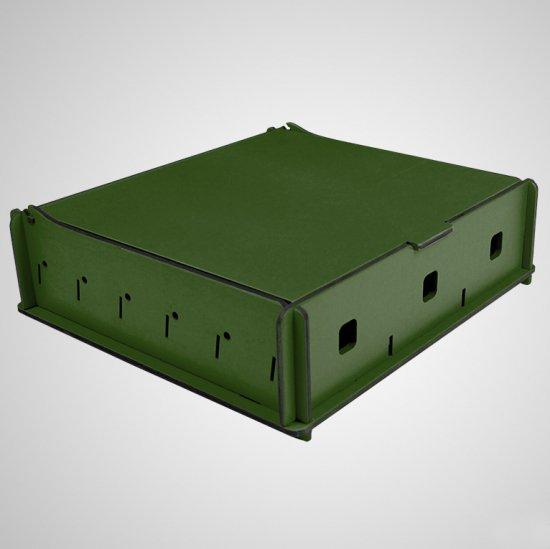 e-Raptor(イーラプター) 木製 ユニバーサルボックス Mサイズ/グリーン