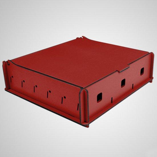 e-Raptor(イーラプター) 木製 ユニバーサルボックス Mサイズ/レッド